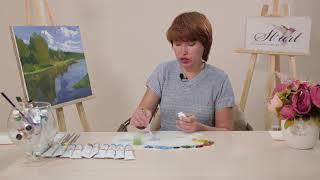 Бесплатный урок по масляной живописи: рисуем пейзаж (часть 2)