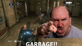 ANGRY MAN WANTS TO BAN ME FROM XBOX LIVE!! Gears of War Gameplay