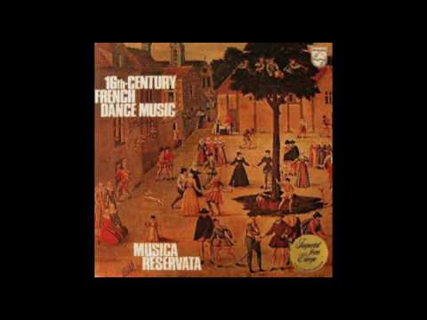 Musica Reservata ‎– 16th-Century French Dance Music (Full 1972 Album)