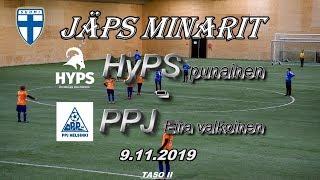 JäPS Minarit HyPS P09 punainen vs PPJ Eira valkoinen 9.11.2019
