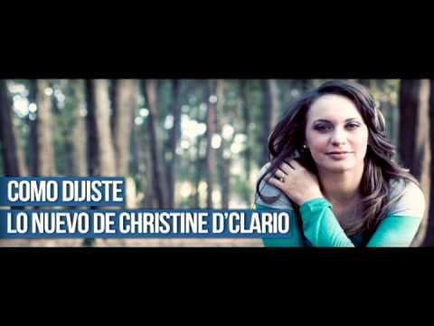 Christine D'Clario - Como Dijiste - Musica Que Edifica