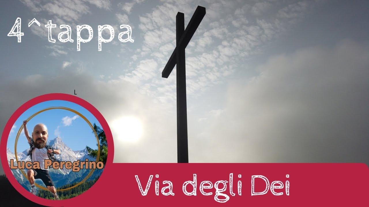 Via degli Dei quarta tappa, da Monte di Fò a San Piero a Sieve