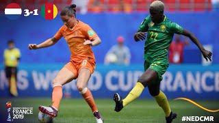 Le Résumé: Pays Bas-Cameroun (CDM Féminine 2019)