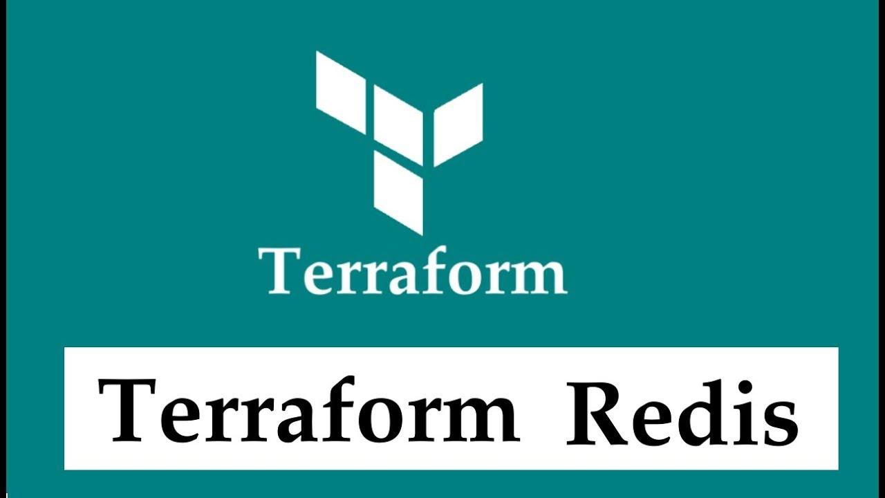 Terraform AWS Redis configuration