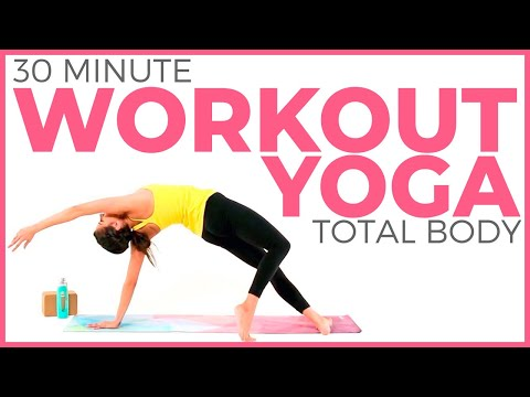 30 minute Power Yoga Workout 🔥 Total Body Yoga Workout 🔥