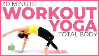 30 minute Power Yoga Workout  Total Body Yoga Workout