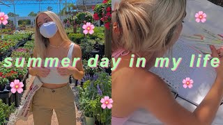 a productive summer day in my life! ✰