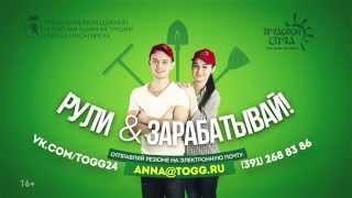 Вакансия руководителя в крупнейшем молодежном проекте города Красноярска.