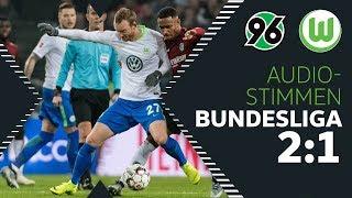 """""""Unnötig...""""   Audio-Stimmen von Arnold, Gerhardt uvm.   Hannover 96 - VfL Wolfsburg"""