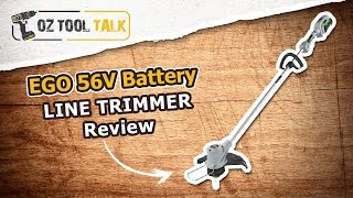 EGO 56V Battery LINE TRIMMER Review
