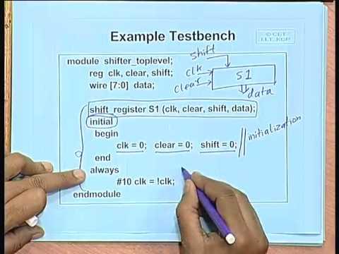 verilog test bench tutorial pdf