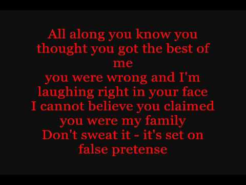 Red Jumpsuit Apparatus - False Pretense