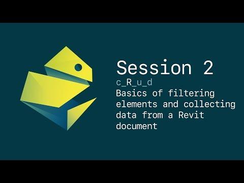 Python for Revit: Basics of collecting data from Revit database