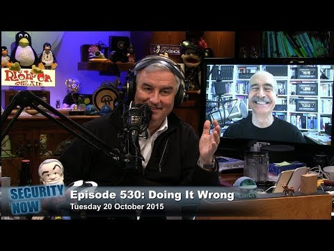 Security Now 530: Doing It Wrong