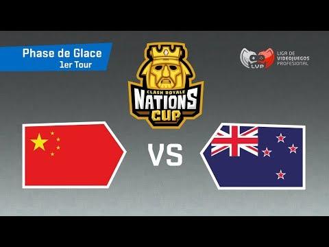 🔴 CHINE vs NOUVELLE-ZELANDE - Coupe du Monde | CR Nations Cup - Phase 1