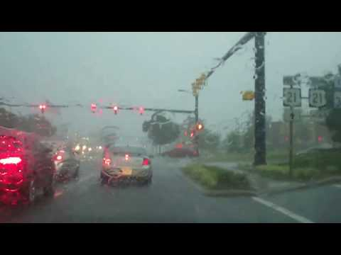 Big Storm & Driving Around on Flooded Streets