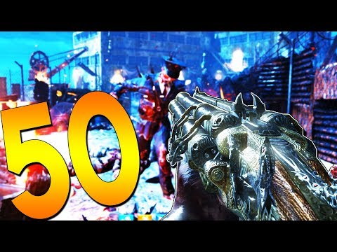 (BO4) BLOOD OF THE DEAD ROUND 50 RUN - BLACK OPS 4 ZOMBIES LIVE STREAM
