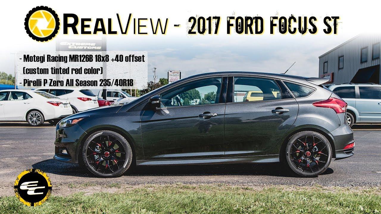 Custom Focus St >> Realview 2017 Ford Focus W Custom 18 Motegi Racing Mr126b 25