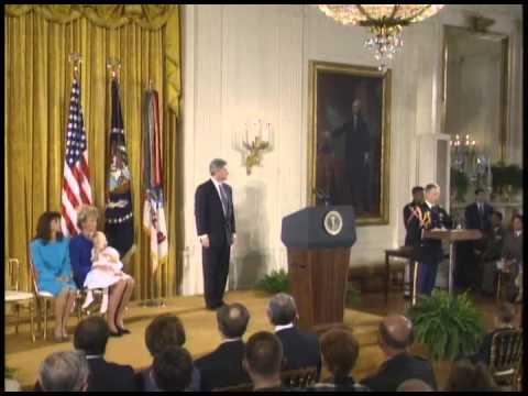 "Pres. Clinton Presenting the Medal of Honor (1994) (""Black Hawk Down"")"