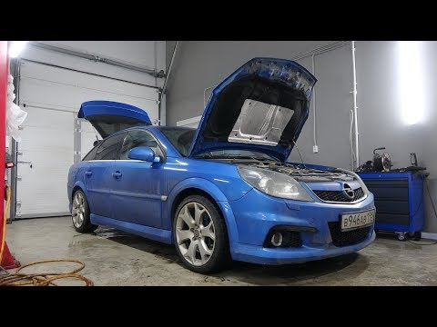 Opel Vectra OPC гонка сломалась?
