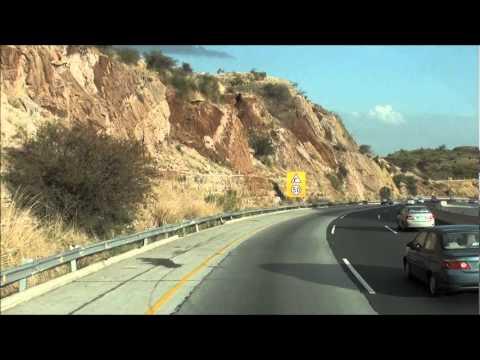 Crossing Salt Range on Motorway M2