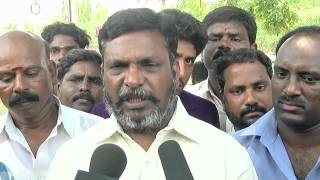 Ban On Smoking And Alcohol Is Our Policy & It Applies To Vakio Family Too - Thol.Thirumalavan Of VCK