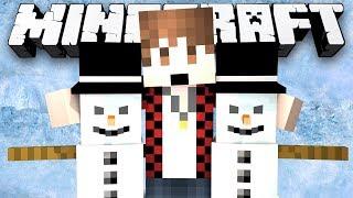 Minecraft: MITCH LOVES EVIL SNOWMEN! (Skywars 2) - w/Preston & Friends!