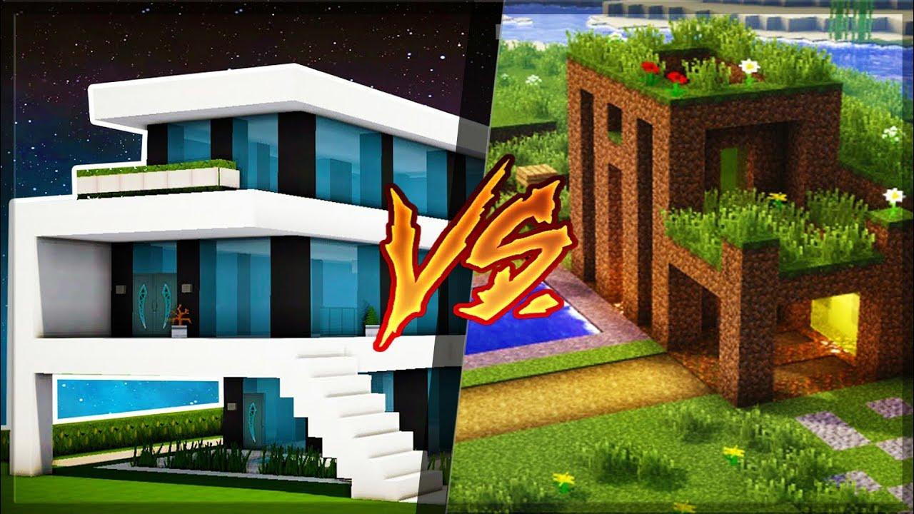 Casa de rico vs casa de pobre no minecraft youtube - Casa de fotografia ...