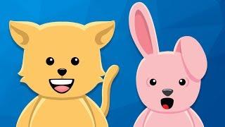 10 Küçük Kedicik | Çocuklar İçin Çiftlik Hayvanları | AfacanTV Çocuk Şarkısı