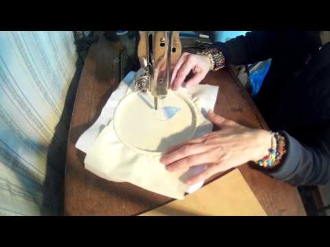 Treadle Sewing Machine Embroidery