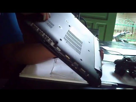How to Remove Battery Laptop Acer One 14 - Z1401 C9UE