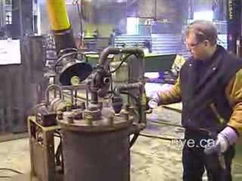 Nt 6 Wood Burning Turbine Stove Generator Youtube