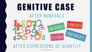 Beginning Russian: Genitive Case-6. Genitive After Numbers and Expressions of Quantity