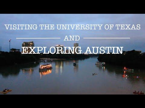 Visiting UT and Exploring Austin!