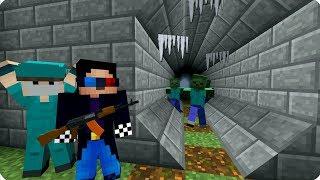 ТОННЕЛЬ СМЕРТИ ЕДИНСТВЕННЫЙ ВЫХОД ДЕНЬ 10. ЗОМБИ АПОКАЛИПСИС В МАЙНКРАФТ   Minecraft   Сериал