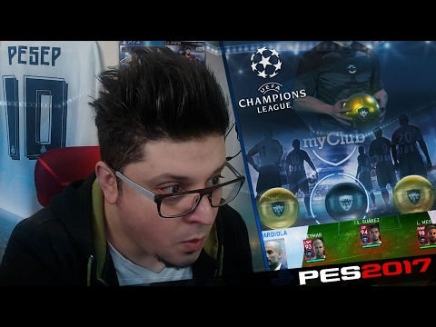 PES 2017 UEFA Champions League Agent Signing & Online Cup #45