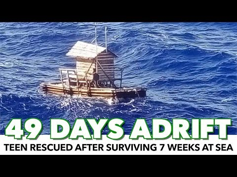 Teen Rescued After Surviving 49 Days Adrift At Sea