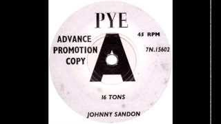 Johnny Sandon - Sixteen Tons (Merle Travis Cover)