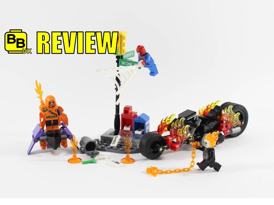 LEGO MARVEL SPIDER-MAN GHOST RIDER TEAM UP 76058 SET REVIEW - YouTube
