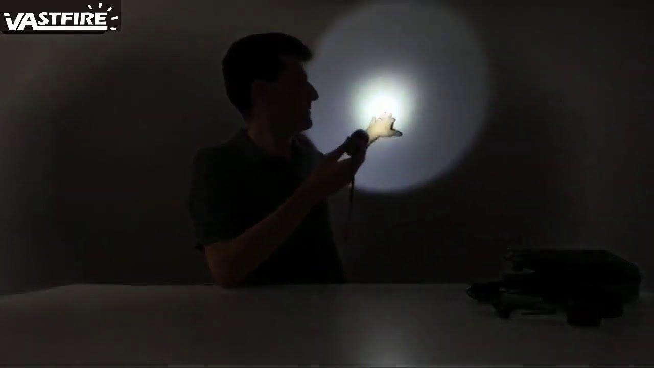 VASTFIRE 1000 Lumen Flashlight for AR 15 with Offset Mount