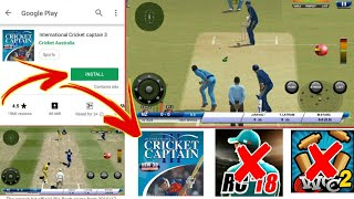 How To Download International Cricket Captain 3 On Android !!Best New Cricket Game of PPSSPP✌