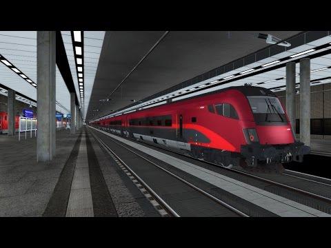 Train Simulator 2016 HD: Siemens Taurus OBB 1116 200 Railjet Advanced Cab Ride (Airport to Berlin)