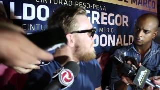 Ladies and gentlemen, Conor McGregor has just taken over Brazil
