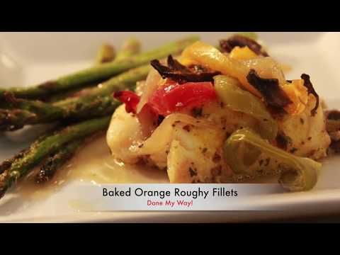 Baked Orange Roughy Fillets