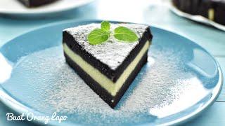 Steam Chocolate Cake with Cheese | Kek Coklat Cheese Kukus
