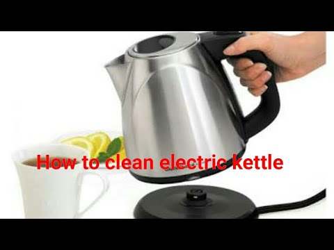 Electric kettle cleaning   how to clean boiling kettle