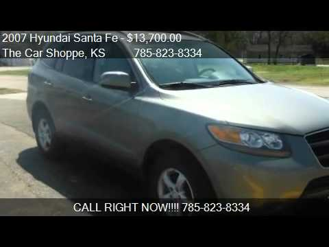 2007 Hyundai Santa Fe Gls Awd For Sale In Salina Ks 67401 Youtube
