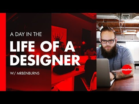Day in the Life of a Designer - Digital Creative Director Ben Burns