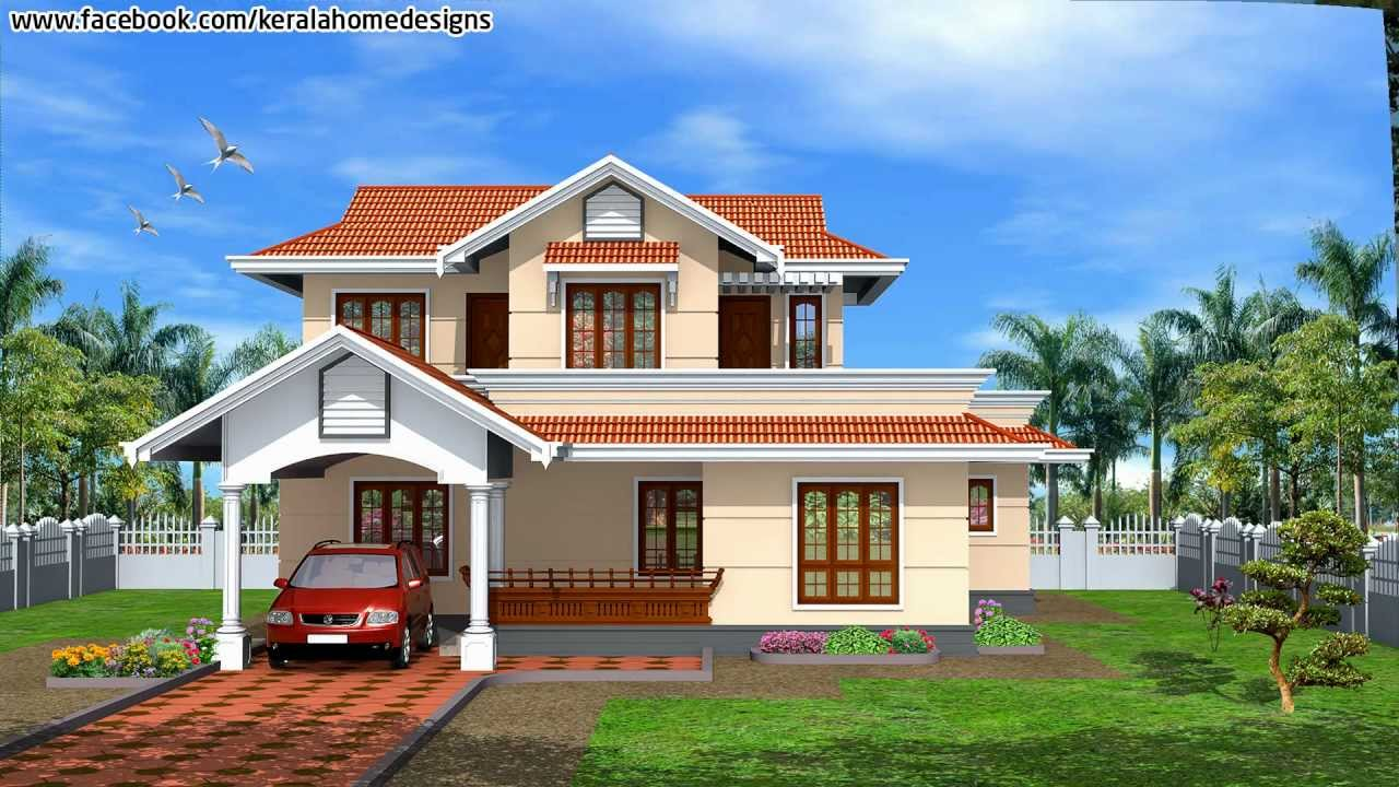 India house plans 1 youtube Designer houses in india