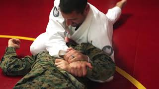Carlson Gracie Brazilian Jiu-Jitsu hosted a seminar for Marines